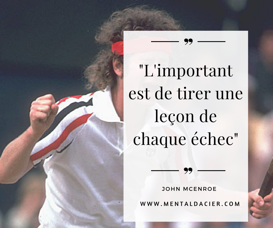 Comment devenir professionnel au tennis - mcenroe